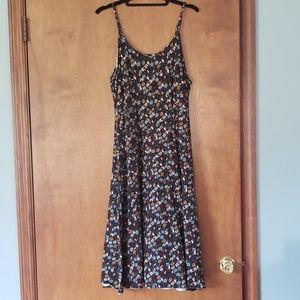 Who what wear / target floral midi dress 1x